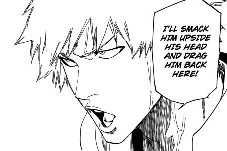 Ichigo will smack Uryu