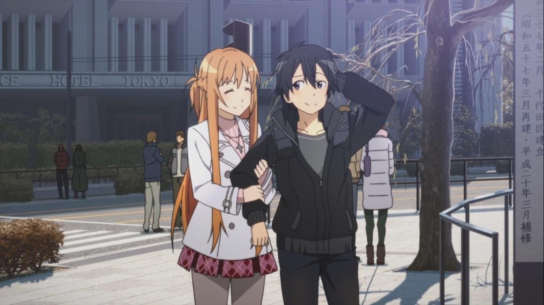 Kirigaya Kazuto and Asuna Yuki