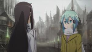 Kirito meets Sinon