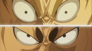 Laxus and Jura's eyes