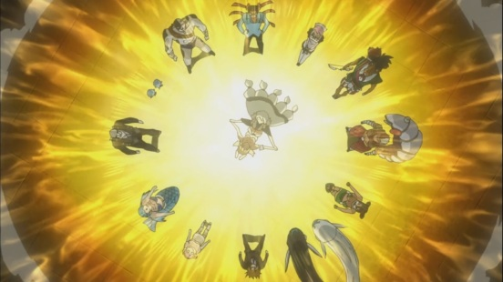 Lucy and Yukino's Celestial Spirits Summoned