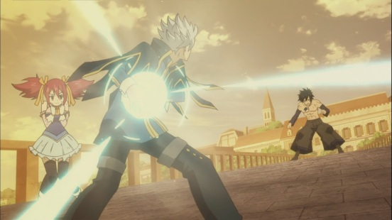 Lyon and Gray fight