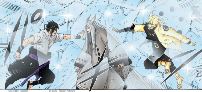 Naruto 682 Frozen solid by lazaer