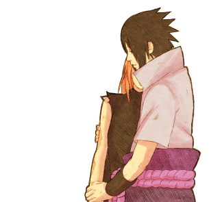 Naruto 685 Sasuke and Sakura by steampunkskulls