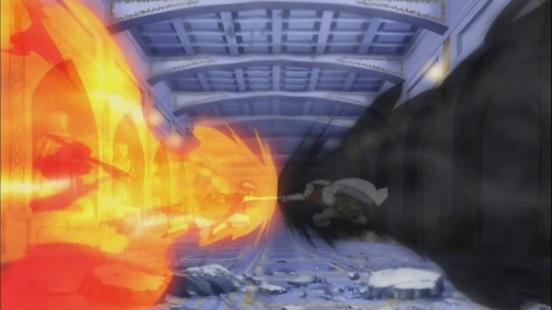 Natsu vs Future Rogue