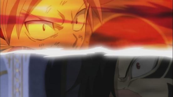 Natsu vs Rogue