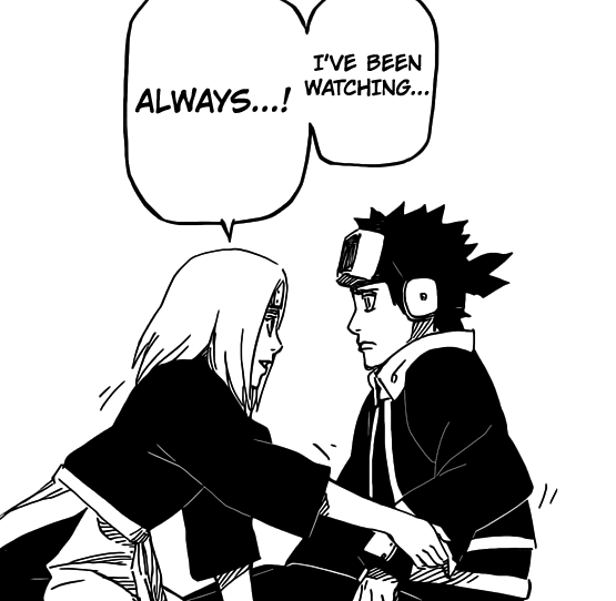 Rin has always been watching Obito