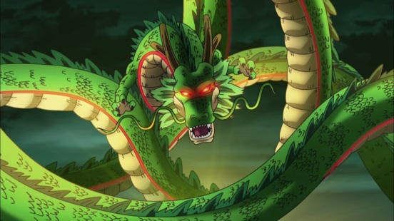 Shenron in Dragon Ball Z 2015 Movie