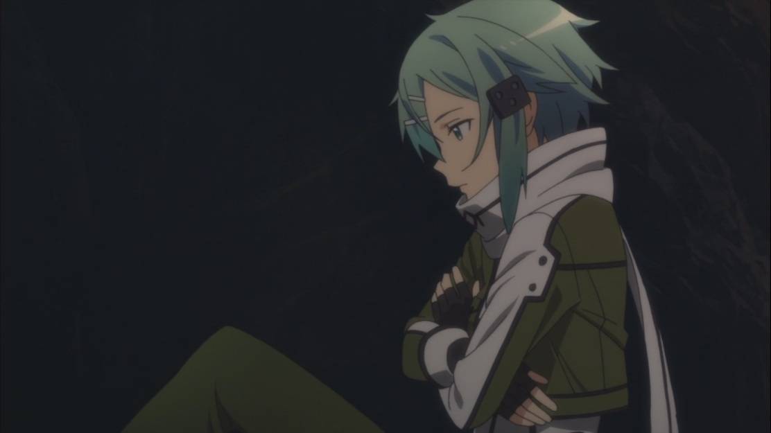 Sinon chills out