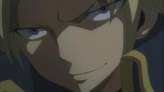 Sting's evil face
