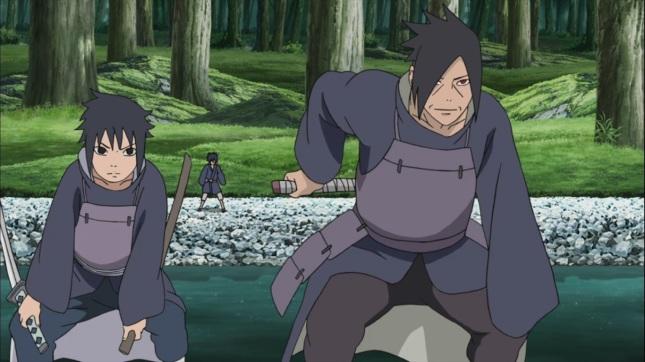 Tajima and Izuna Uchiha