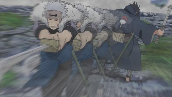 Tobirama kills Izuna