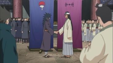 Uchiha and Senju alliance