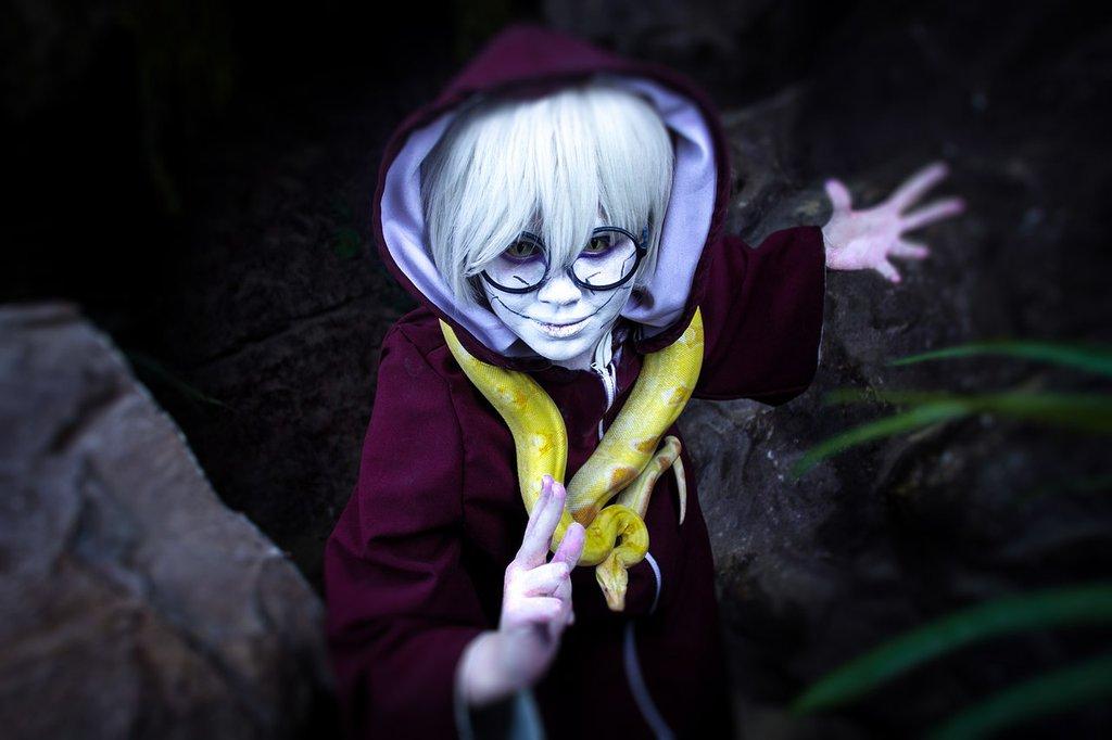 cosplay monday  kabuto yakushi