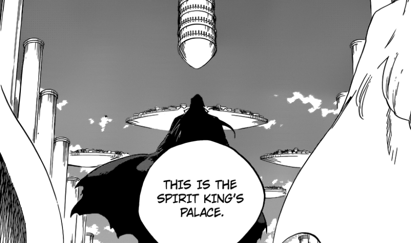 Yhwach Uryu Jugram at Spirit King's Palace