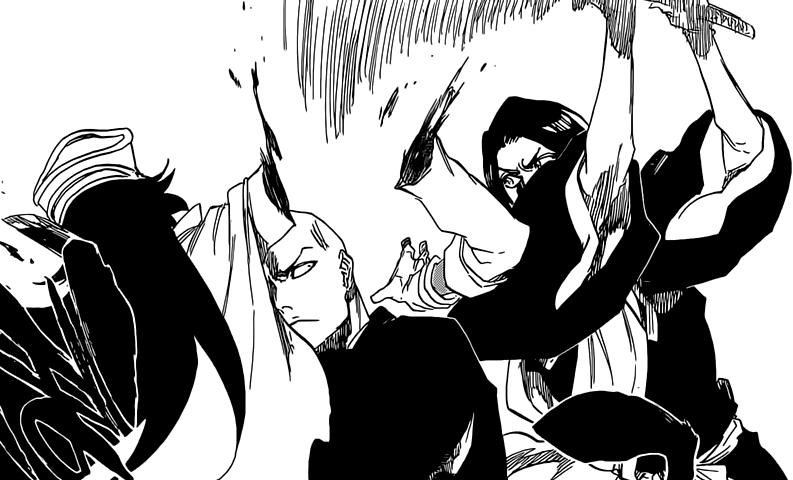 yumichika cuts bambiatta�s hand daily anime art