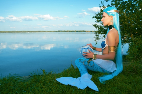 Aquarius Mermaid Cosplay by Ginkirii