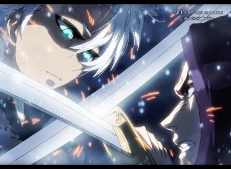 Bleach 592 Toshiro vs Yumichika by ar-ua