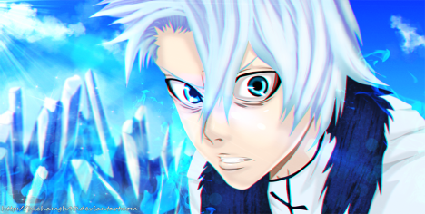 Bleach 593 Toshiro by Hichamgh90