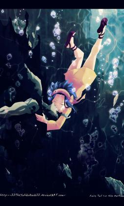 Fairy Tail 396 Last Breath Gajeel and Levy by IITheYahikoDarkII