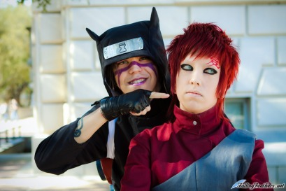 Family Fun Gaara and Kankuro by Nekomatalee