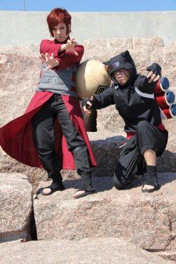 Cosplay Monday: Gaara and Kankuro | Daily Anime Art Gaara And Kankuro Brothers