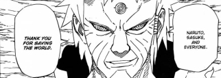 Hagoromo Thanks Naruto for Saving World