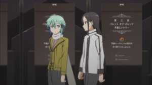 Kirito and Sinon ready