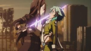 Kirito and Sinon