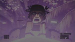 Kirito stabs opponent