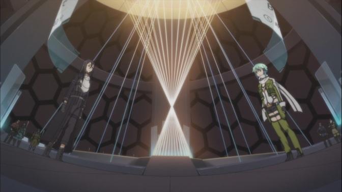 Kirito vs Sinon