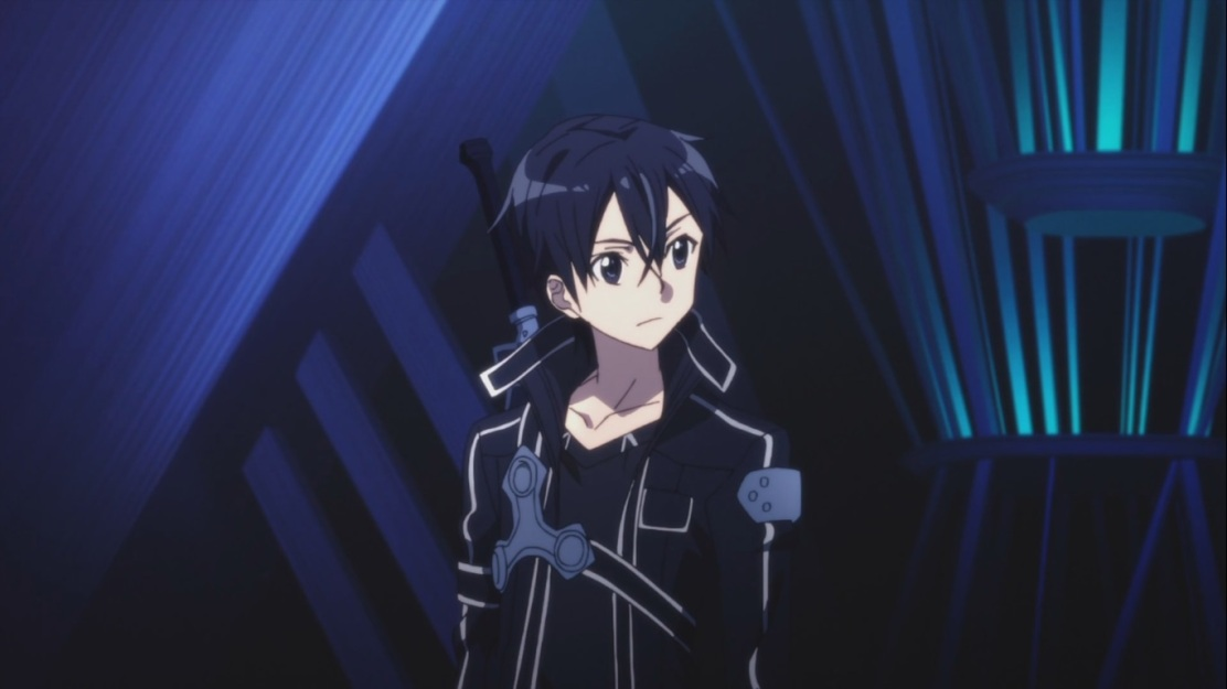 Kirito within Sword Art Online