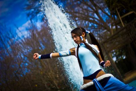 Korra Cosplay Punch by DomiGrowls