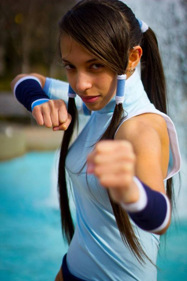 Korra Fighting Stance by DomiGrowls