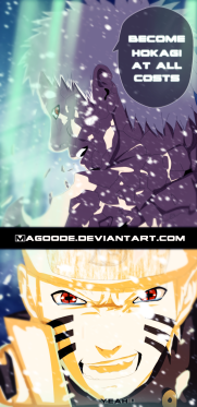 Naruto 687 Obito and Naruto by magooode