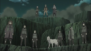 Naruto and others ready to fight