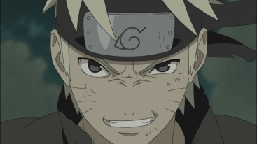 Naruto is pumped up