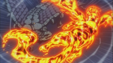 Natsu and Atlas Flames vs Future Rogue and Mother Glare