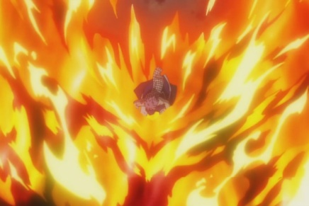 Natsu and Atlas Flames! Rogue's Future – Fairy Tail 195
