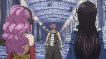 Natsu promises to deal with Future Rogue
