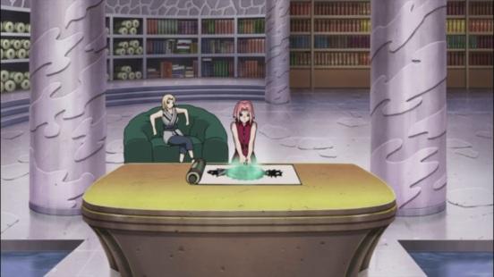 Sakura trained with Tsunade