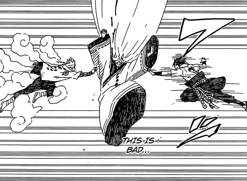 Sasuke and Naruto get close to sealing