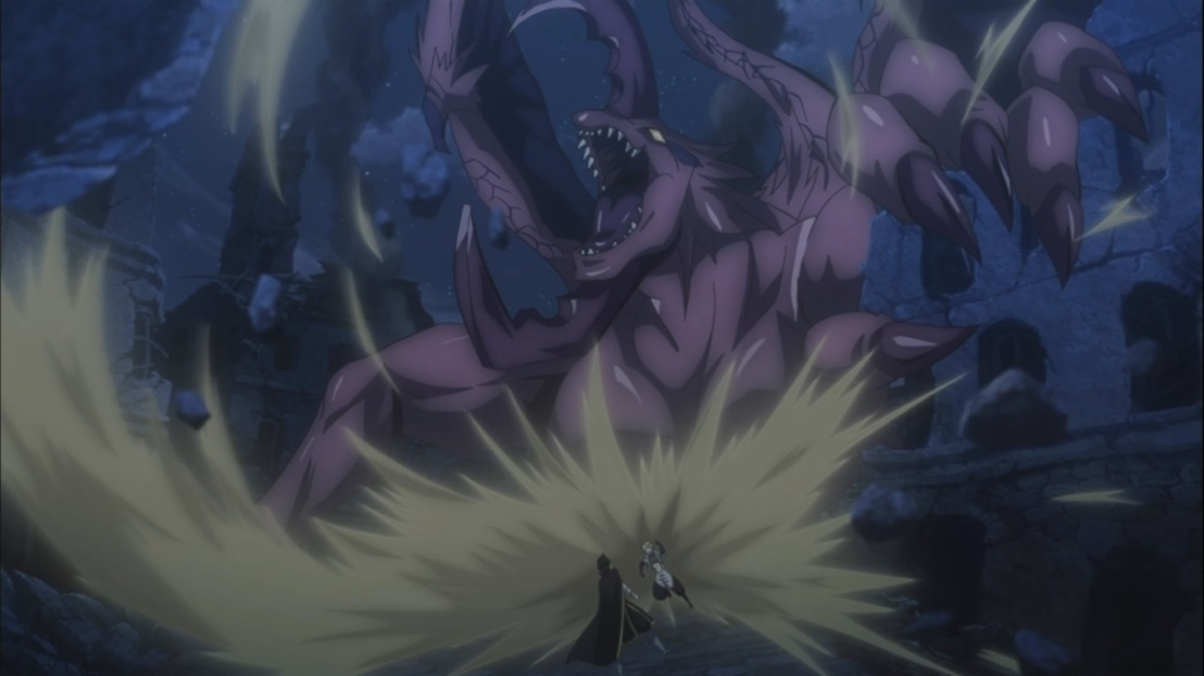 Sting runs away from Dragon