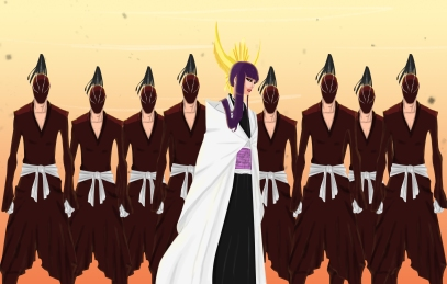 Bleach 597 Senjumaru Shutara and Warriors by Salty-Art