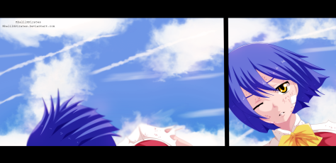 Fairy Tail 399 Wendy Falls by Khalilxpirates