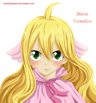 Fairy Tail Zero 2 Mavis by claudiadragneel