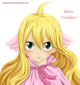 Fairy Tail Zero 2 Mavis by claudiadragneel