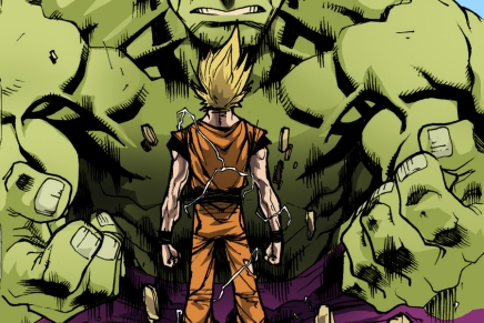 Brute and Brawn – Goku and Hulk