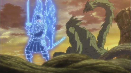 Hashirama and Madara at the Valley of the End