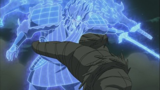 Hashirama tackles Madara